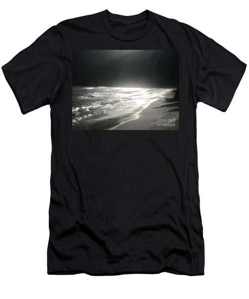 Ocean Smile Men's T-Shirt (Slim Fit) by Fiona Kennard
