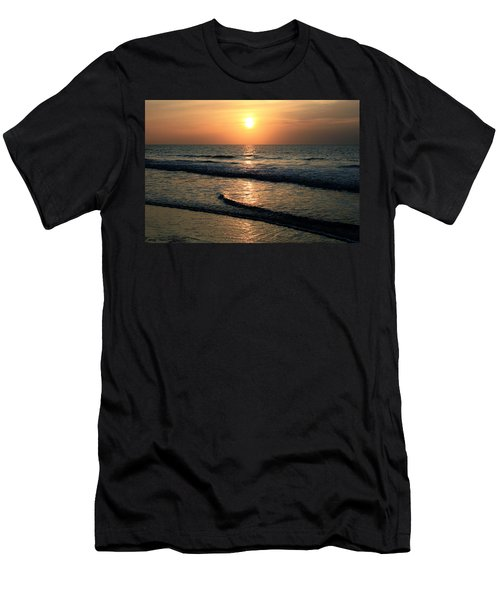 Ocean Sunrise Over Myrtle Beach Men's T-Shirt (Athletic Fit)