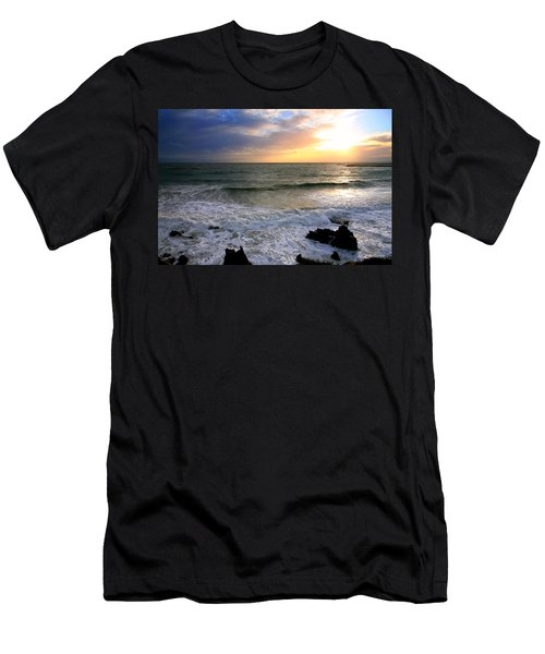 Ocean Sunset 84 Men's T-Shirt (Athletic Fit)