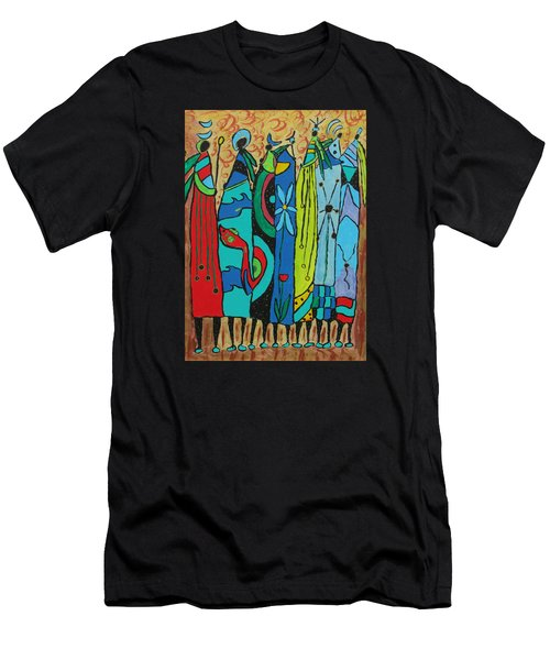 Oceania Men's T-Shirt (Slim Fit) by Clarity Artists