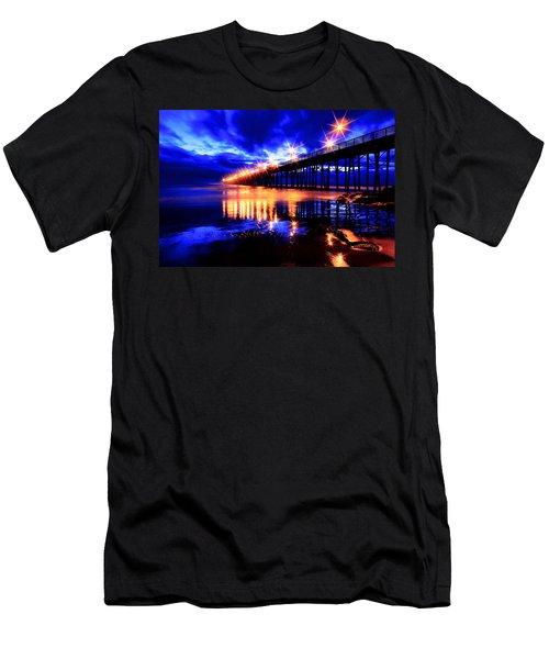 Oceanside Pier 4 Men's T-Shirt (Athletic Fit)