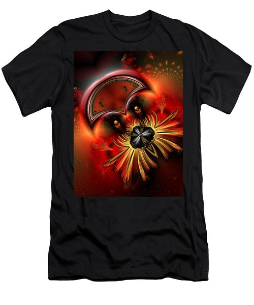 Ocf 199 Fido In Abstract Men's T-Shirt (Slim Fit) by Claude McCoy