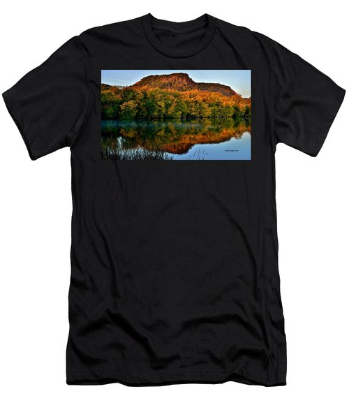 October Bluffs Men's T-Shirt (Athletic Fit)