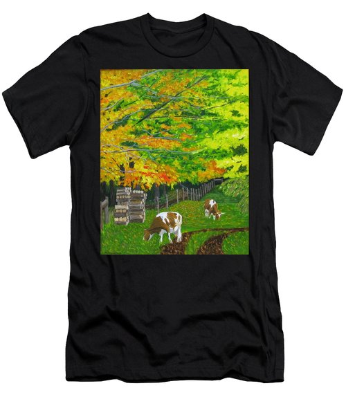 October Pasture Men's T-Shirt (Athletic Fit)
