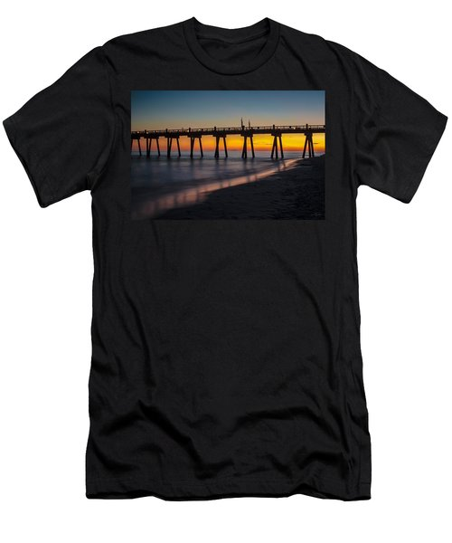 October Sunset Men's T-Shirt (Athletic Fit)