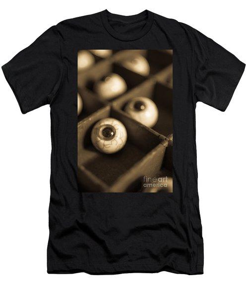 Oddities Fake Eyeballs Men's T-Shirt (Athletic Fit)