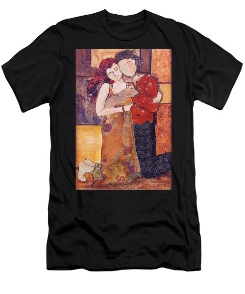 Ode To Klimt Men's T-Shirt (Athletic Fit)