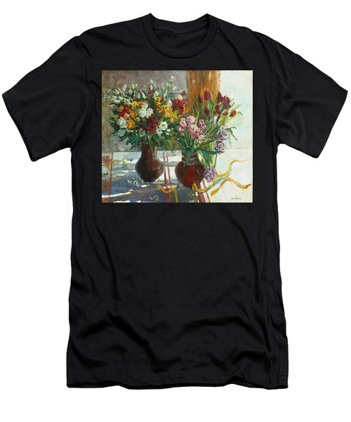 Of Bouquets Plexus Men's T-Shirt (Athletic Fit)