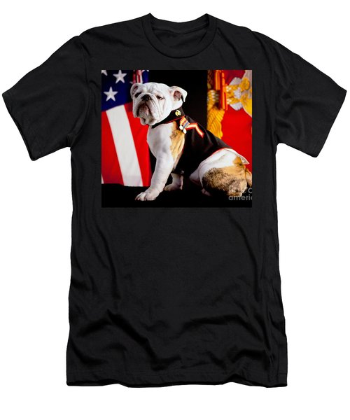 Official Mascot Of The Marine Corps Men's T-Shirt (Athletic Fit)