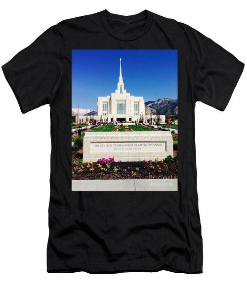 Ogden Temple 1 Men's T-Shirt (Athletic Fit)