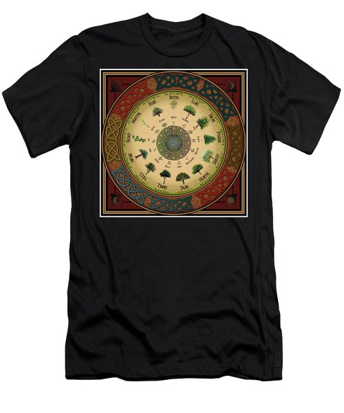 Ogham Tree Calendar Men's T-Shirt (Athletic Fit)
