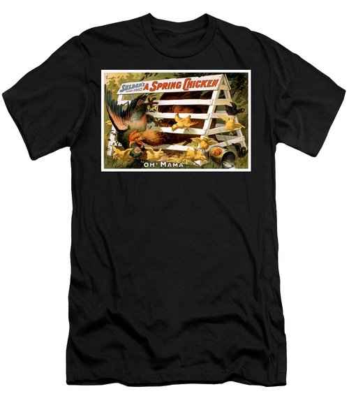 Oh Mama Men's T-Shirt (Slim Fit) by Terry Reynoldson