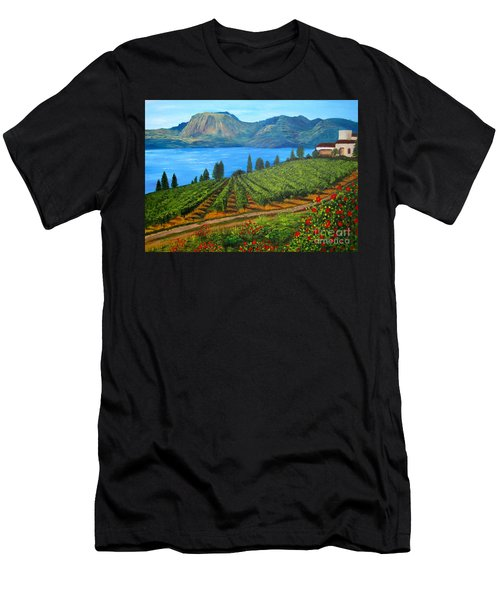 Okanagan Vineyard Men's T-Shirt (Athletic Fit)