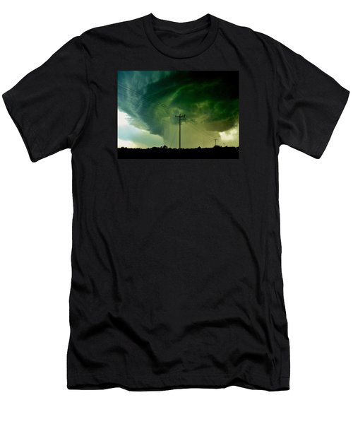 Men's T-Shirt (Slim Fit) featuring the photograph Oklahoma Mesocyclone by Ed Sweeney