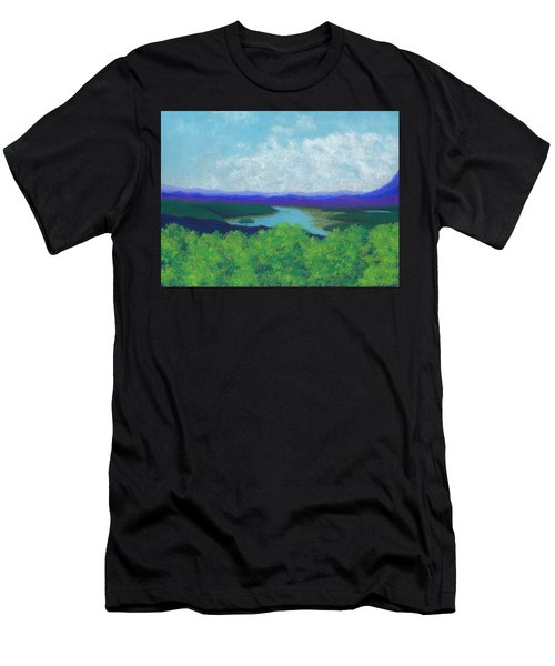 Olana Overlook Men's T-Shirt (Athletic Fit)