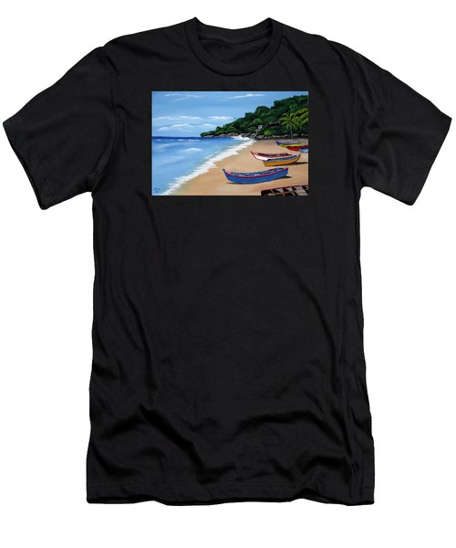 Olas De Crashboat Men's T-Shirt (Athletic Fit)
