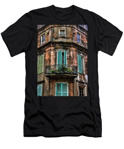 Old And Weathered Men's T-Shirt (Slim Fit) by Judy Vincent