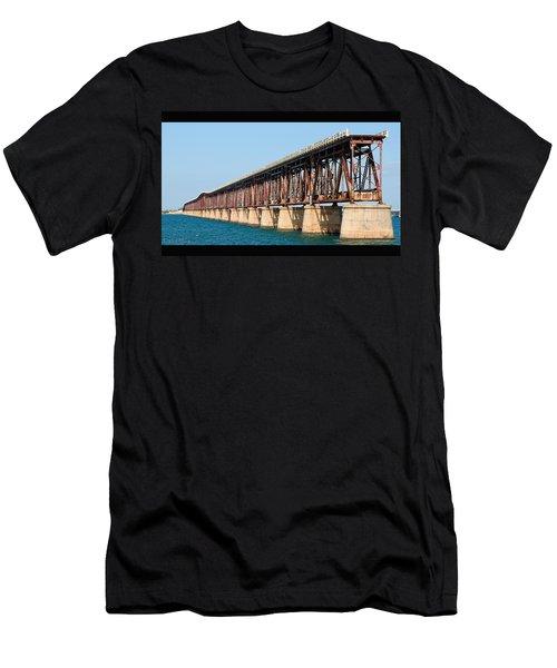 Old Bahia Honda Bridge 2 Men's T-Shirt (Athletic Fit)