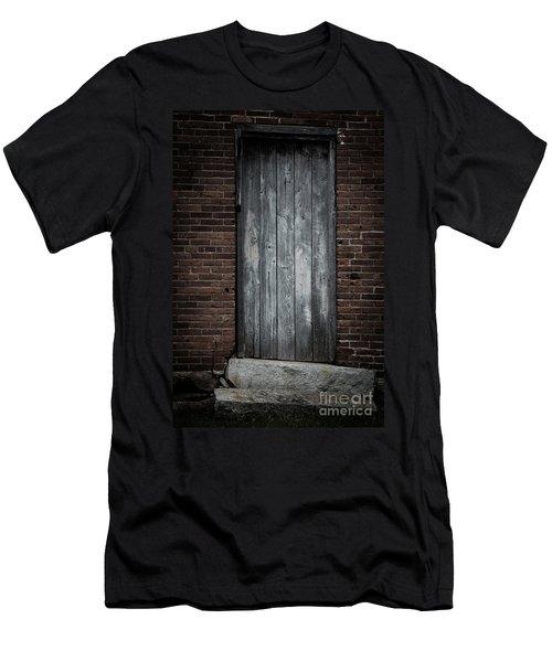 Old Blacksmith Shop Door Men's T-Shirt (Athletic Fit)