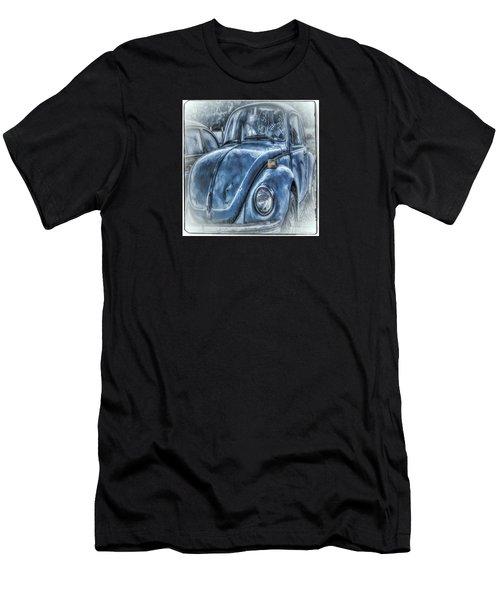 Old Blue Bug Men's T-Shirt (Athletic Fit)