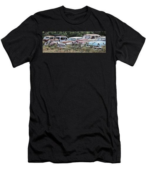 Old Car Graveyard Men's T-Shirt (Athletic Fit)