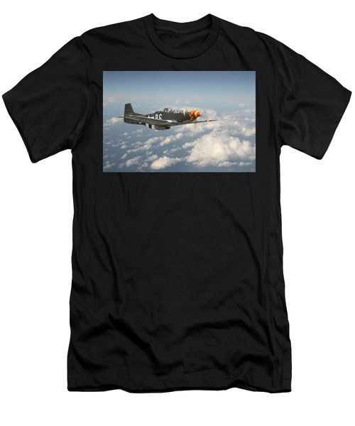 P51 Mustang - 'old Crow' Men's T-Shirt (Athletic Fit)