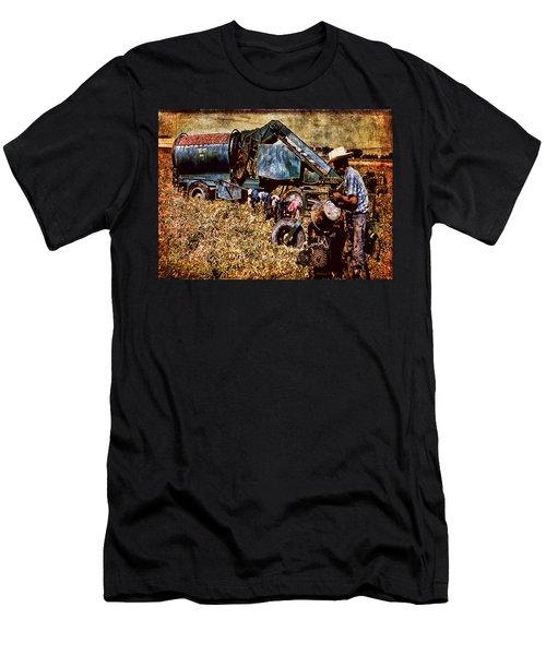 Old Farm Equipment Men's T-Shirt (Athletic Fit)