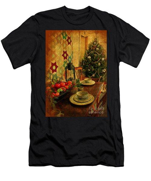Old Fashion Christmas At Atalaya Men's T-Shirt (Athletic Fit)