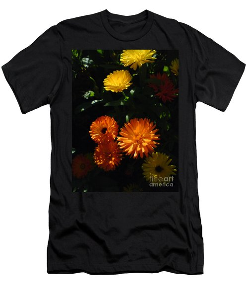 Old-fashioned Marigolds Men's T-Shirt (Slim Fit) by Martin Howard