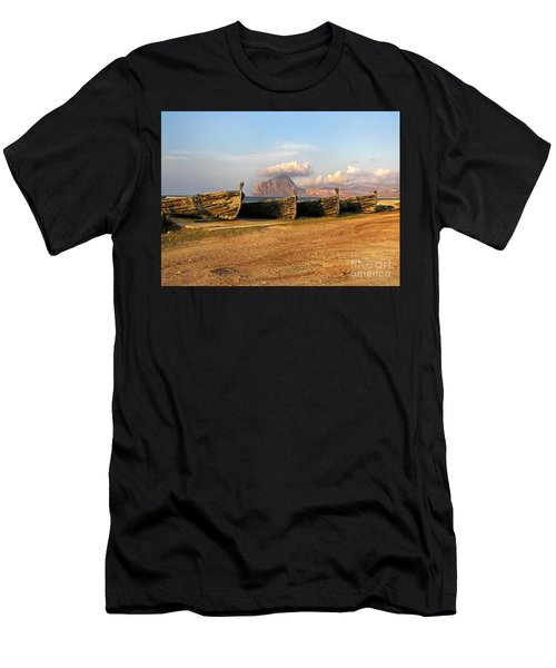 Men's T-Shirt (Athletic Fit) featuring the photograph Aquatic Dream Of Sicily by Silva Wischeropp