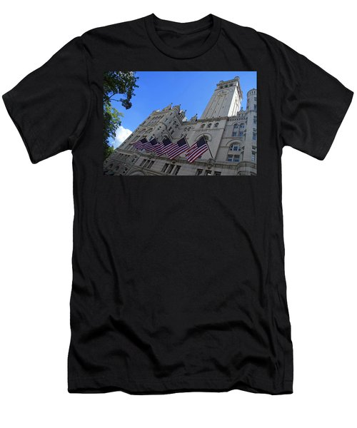 The Old Post Office Or Trump Tower Men's T-Shirt (Athletic Fit)
