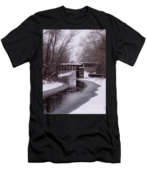 The Nifti Railroad Bridge Men's T-Shirt (Athletic Fit)