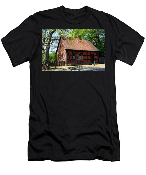Old Salem Scene 3 Men's T-Shirt (Athletic Fit)