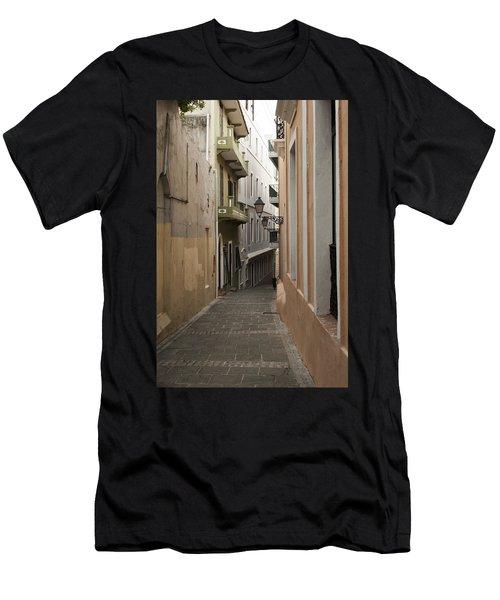 Old San Juan Street Men's T-Shirt (Athletic Fit)
