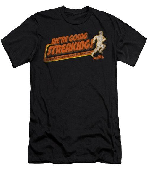 Old School - Streaking Men's T-Shirt (Athletic Fit)