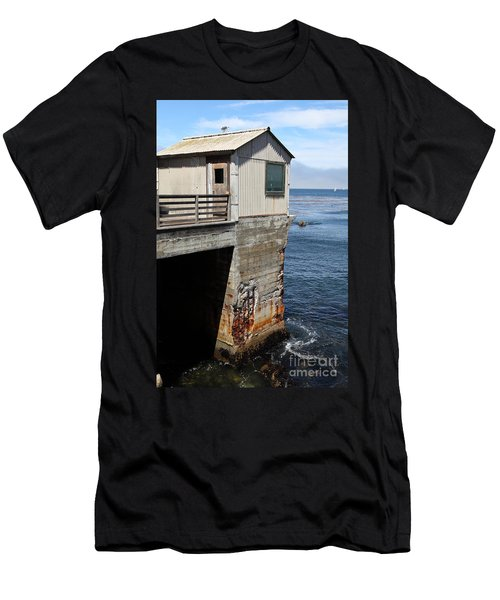 Old Shack Overlooking The Monterey Bay In Monterey Cannery Row California 5d25062 Men's T-Shirt (Athletic Fit)