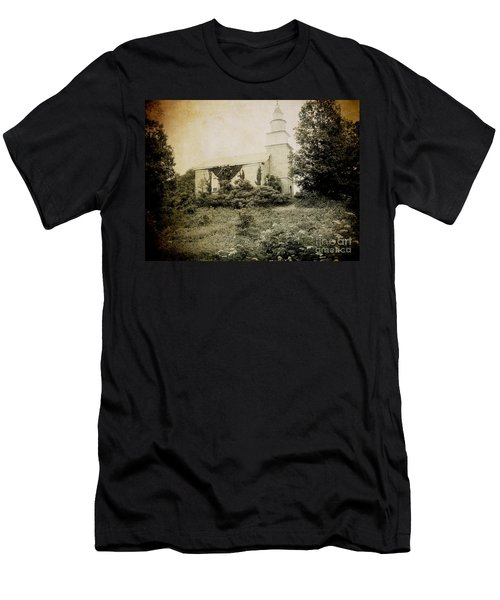 Old Stone Church In Rhinebeck Men's T-Shirt (Athletic Fit)