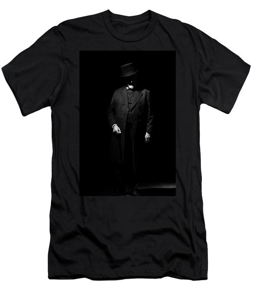Vintage Gentlemen With Tall Hat - Style Has Not Deadline Men's T-Shirt (Athletic Fit)
