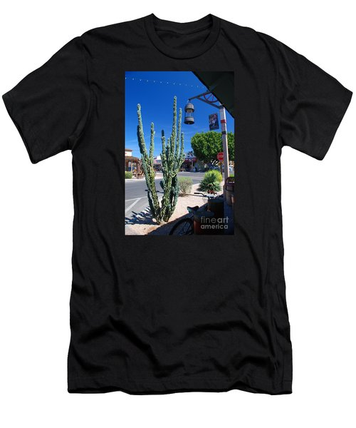 Old Town Cactus Men's T-Shirt (Athletic Fit)