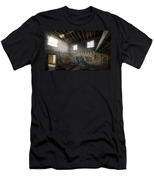 Old Warehouse Interior Men's T-Shirt (Athletic Fit)