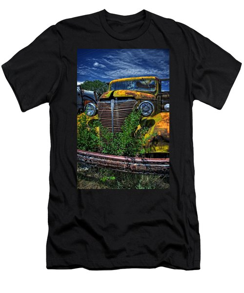 Men's T-Shirt (Slim Fit) featuring the photograph Old Yeller by Ken Smith