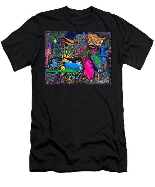 Omen Birds Men's T-Shirt (Slim Fit) by Peter Gumaer Ogden