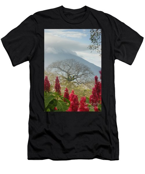 Ometepe Island 1 Men's T-Shirt (Athletic Fit)