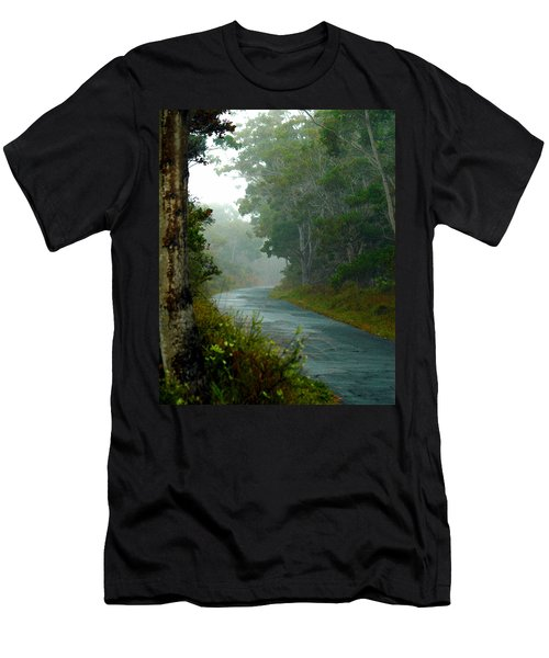 On A Country Road Men's T-Shirt (Athletic Fit)