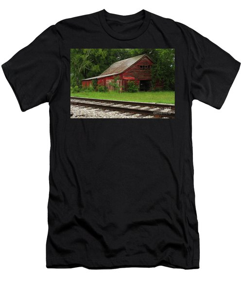 On A Tennessee Back Road Men's T-Shirt (Slim Fit) by Douglas Stucky