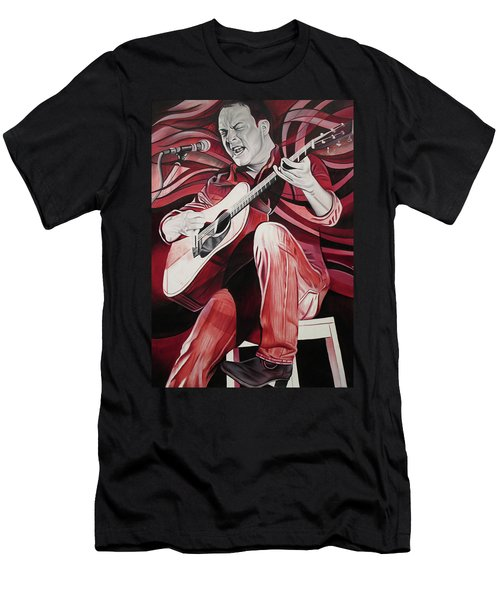 Dave Matthews-on Bended Knees Men's T-Shirt (Athletic Fit)