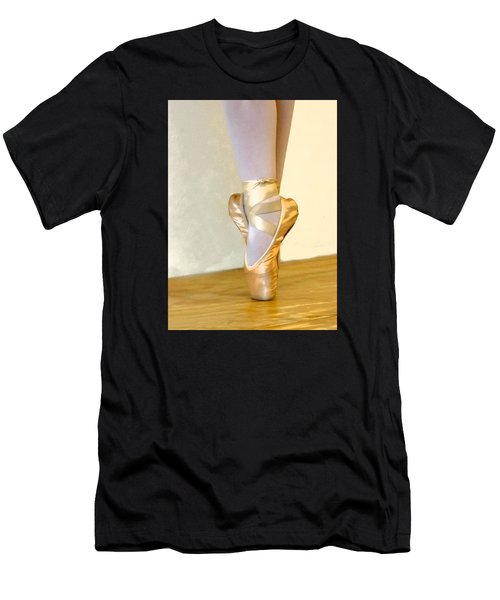 Ballet Toes On Point Men's T-Shirt (Athletic Fit)