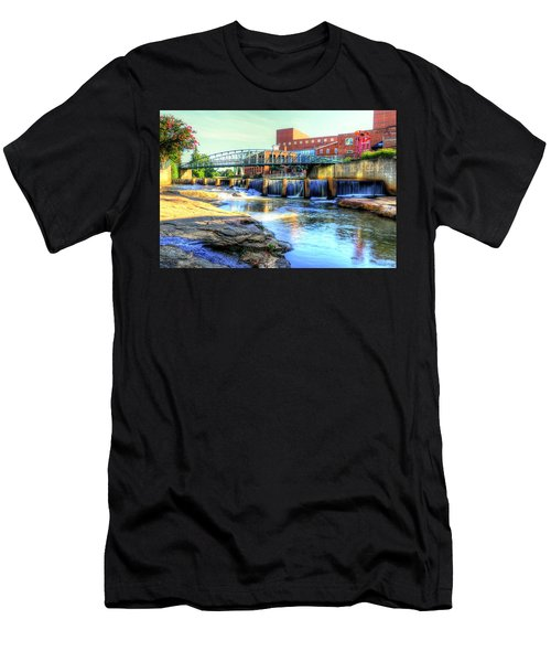 On The Reedy River In Greenville Men's T-Shirt (Athletic Fit)