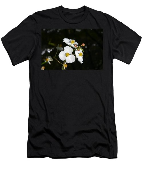 Men's T-Shirt (Slim Fit) featuring the photograph On The Shore Line by Denyse Duhaime