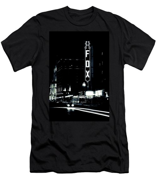 On The Town Men's T-Shirt (Slim Fit) by Scott Rackers